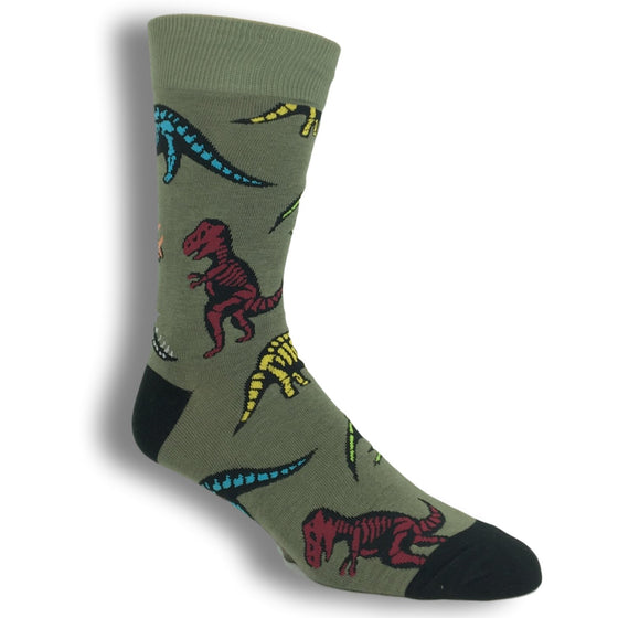 Dinosaur Bones Socks by Good Luck Sock - The Sock Spot