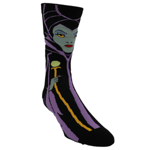 Disney Villain Maleficent 360 Socks - The Sock Spot
