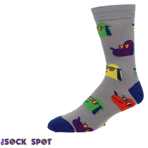 Dogs in Shades Men's Socks by Sock it to Me - The Sock Spot