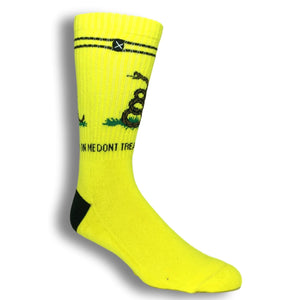 Don't Tread on Me Socks by Odd Sox - The Sock Spot