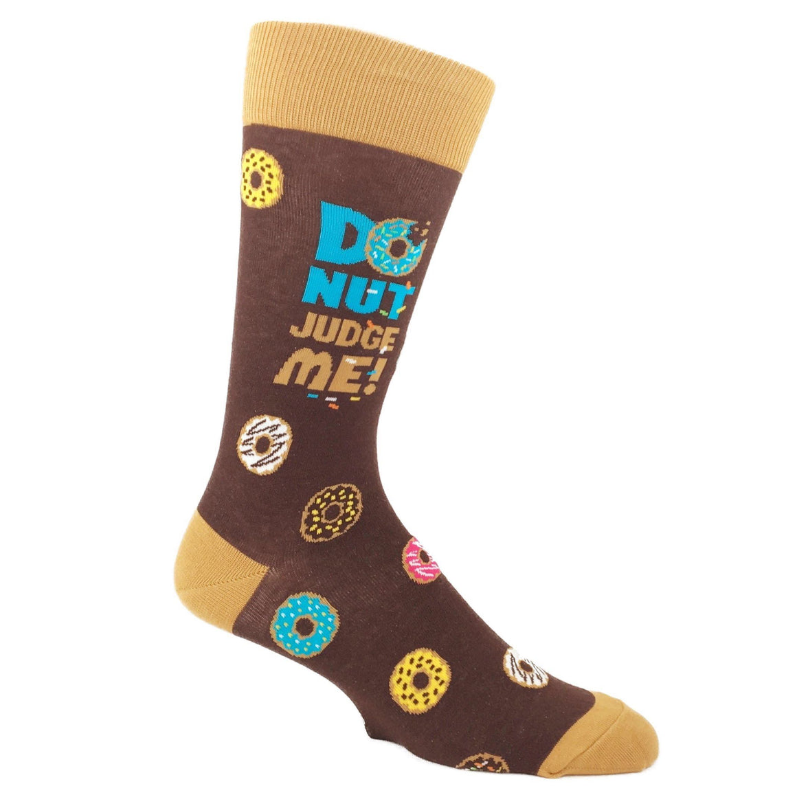 Donut Judge Me Food Socks by Foot Traffic - The Sock Spot