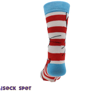 Socks - Dr Seuss Cat In The Hat Socks