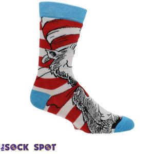 Dr Seuss Cat in the Hat Socks - The Sock Spot