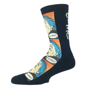 Einstein Pop Art Printed Socks by Good Luck Sock - The Sock Spot