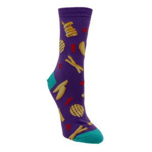 Everyday is Fry-Day Women's Socks by Sock it to Me - The Sock Spot