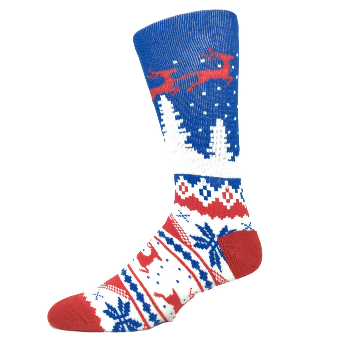 Fair Isle Christmas Socks by Odd Sox - The Sock Spot