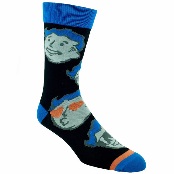 Fallout Vault Boy Faces Socks - The Sock Spot