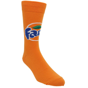 Socks - Fanta Men's Socks In Orange By SockSmith