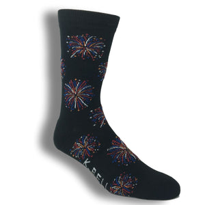 Fireworks Socks - Made In America by K.Bell - The Sock Spot