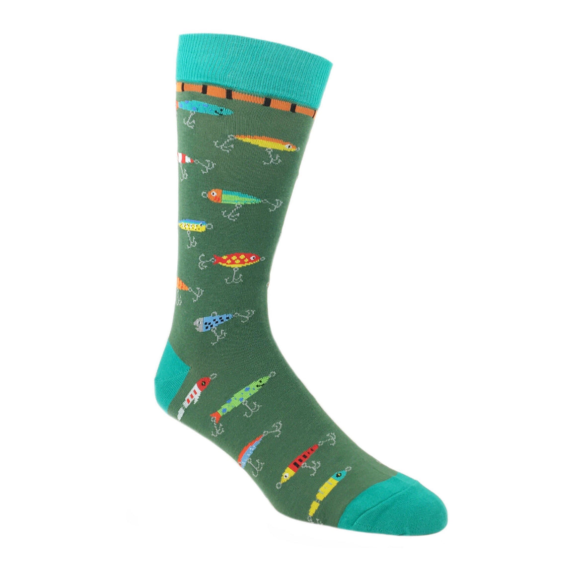 Fishing Lure Socks by Foot Traffic - The Sock Spot