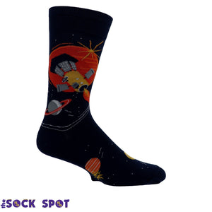 Fly Me to the Sun Men's Socks by Sock it to Me - The Sock Spot