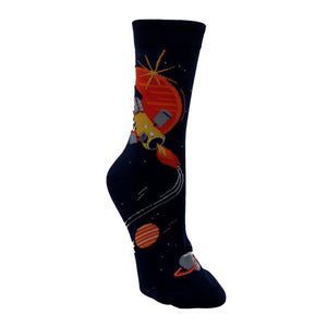 Fly Me to the Sun Women's Socks by Sock it to Me - The Sock Spot