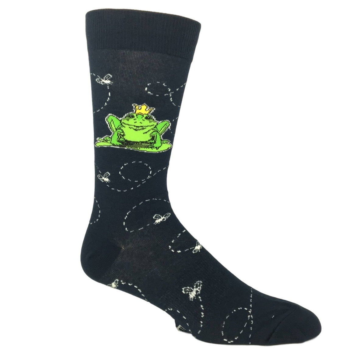 Frog Prince Socks by K.Bell - The Sock Spot