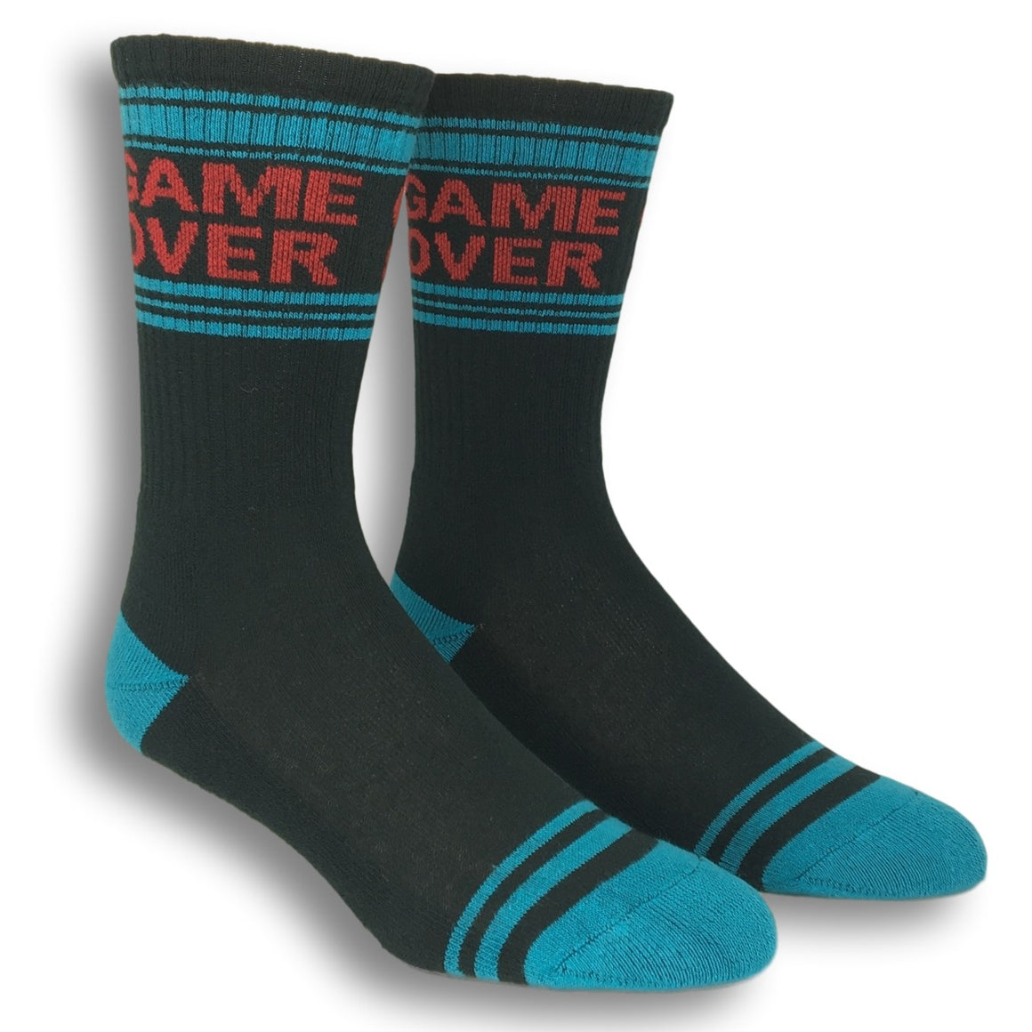 Game Over Athletic Socks by Gumball Poodle - The Sock Spot