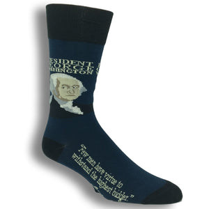 George Washington Signature Socks by Funatic - The Sock Spot