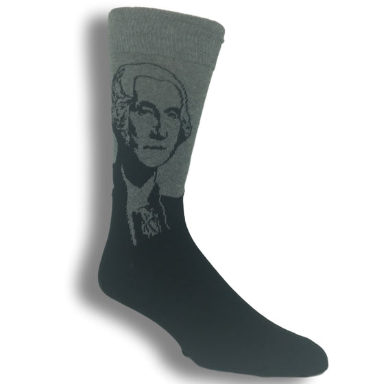 George Washington Socks in Grey by SockSmith - The Sock Spot