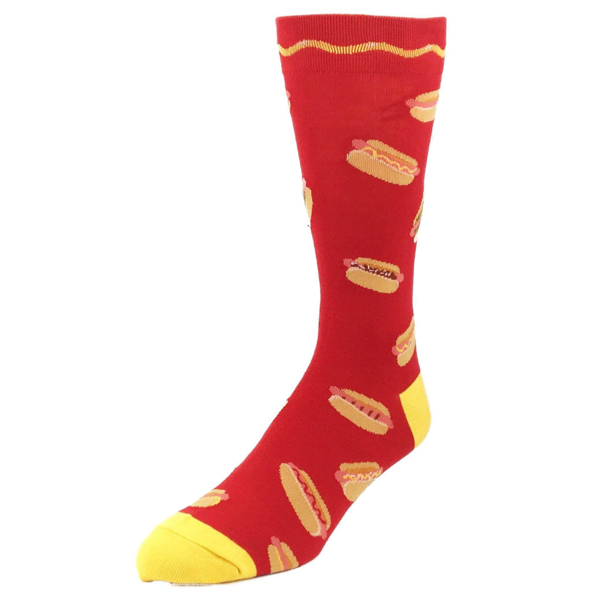 Get Your Hot Dog Food Socks by Foot Traffic - The Sock Spot