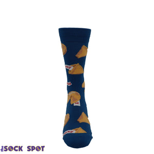 Getting Lucky Men's Socks in Blue by SockSmith - The Sock Spot