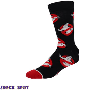 Ghost Busters Logo Athletic Socks by Odd Sox - The Sock Spot