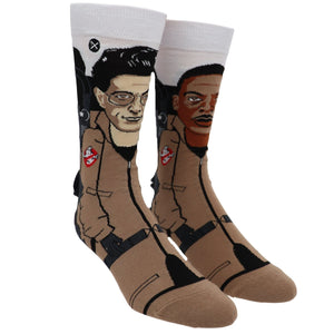 Ghostbusters Spengler & Zeddemore 360 Cartoon Socks by Odd Sox - The Sock Spot