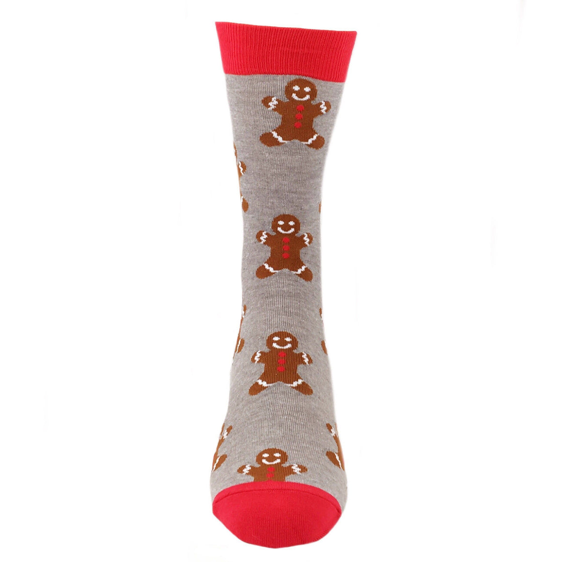 Gingerbread Men Christmas Socks by Good Luck Sock - The Sock Spot