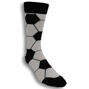 Goal! Men's Socks in Black by SockSmith - The Sock Spot