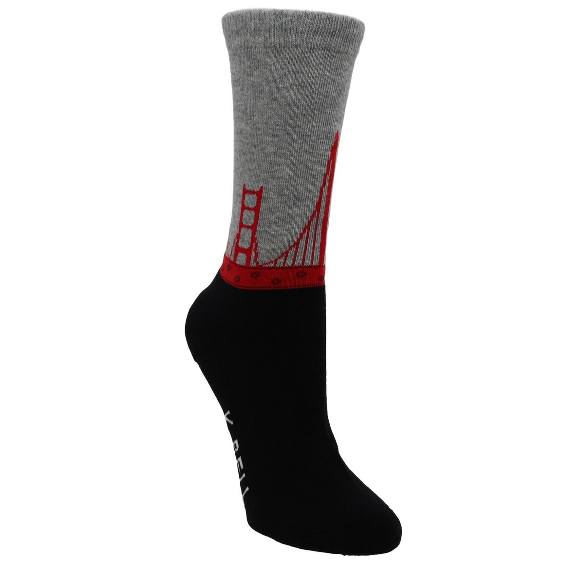Golden Gate Bridge Women's Socks - Made in America by K.Bell - The Sock Spot