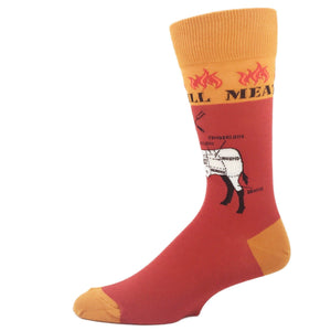 Grilling Beef Socks by Foot Traffic - The Sock Spot