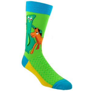 Gumby and Pal Pokey Socks by SockSmith - The Sock Spot