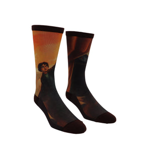 Harry Potter and the Deathly Hallows Socks - Large by Out Of Print - The Sock Spot