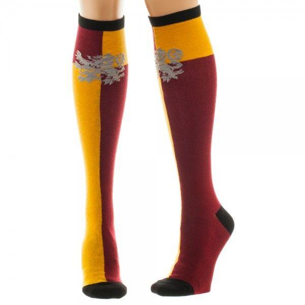 Gryffindor Knee High Harry Potter Socks - The Sock Spot