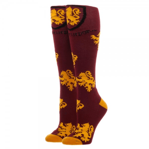 Gryffindor Logos Harry Potter Knee High Socks - The Sock Spot