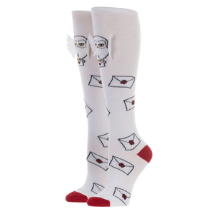 Hedwig 3D Harry Potter Knee High Socks - The Sock Spot