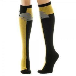 Hufflepuff Knee High Harry Potter Socks - The Sock Spot