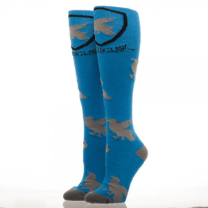 Socks - Harry Potter Ravenclaw Logos Knee High Socks