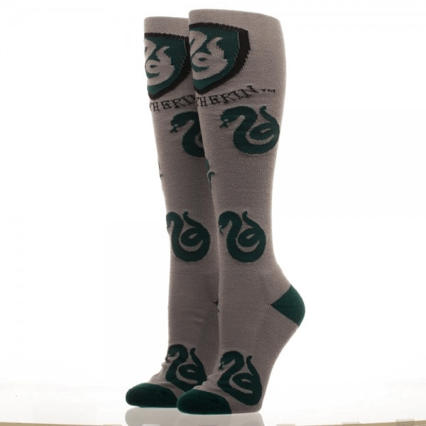 Slytherin Logos Harry Potter Knee High Socks - The Sock Spot
