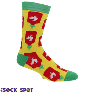 Socks - Holy Sriracha Men's Socks By Oooh Yeah Socks