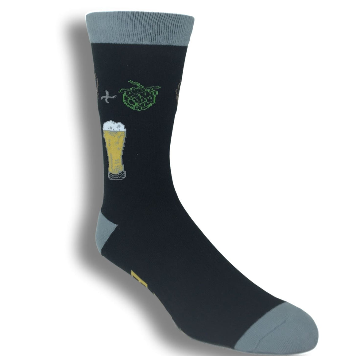 Hoppy Beer Socks by K.Bell - The Sock Spot