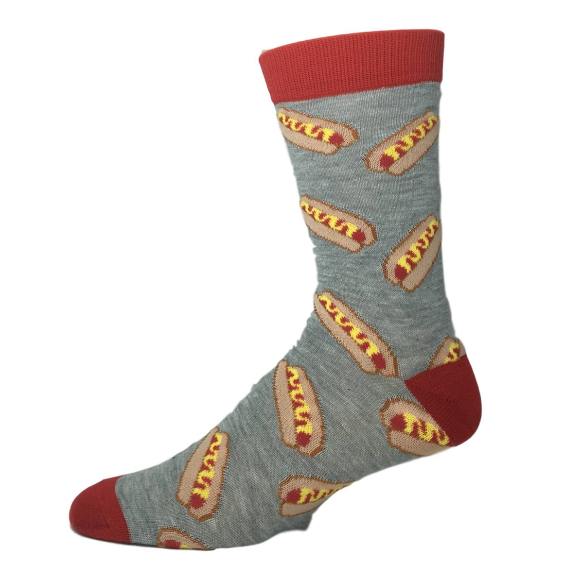 Socks - Hot Dog And Mustard Socks