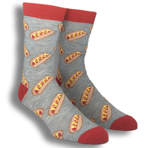 Hot Dog and Mustard Socks - The Sock Spot