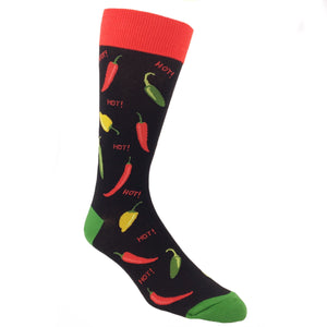 Socks - Hot Peppers Food Socks