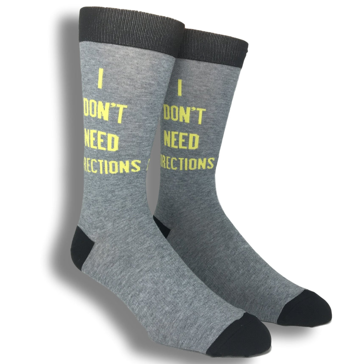 Socks - I Don't Need Directions Socks