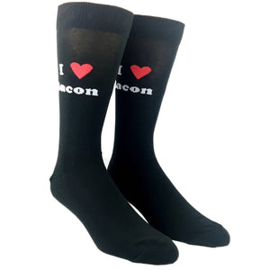 Socks - I Heart Bacon Food Socks