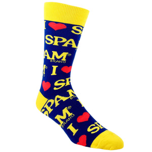 I Heart SPAM Food Socks by SockSmith - The Sock Spot