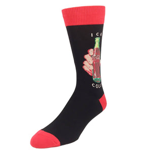 Socks - Ice Cold Coca-Cola Socks - Black
