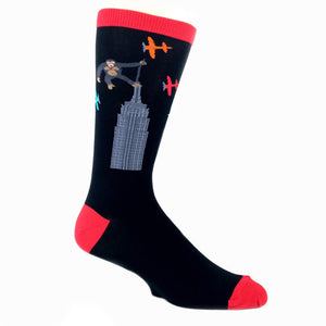 Socks - King Kong On Building Socks