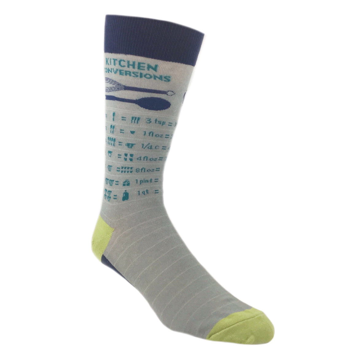 Kitchen Measurement Conversion Socks by Foot Traffic