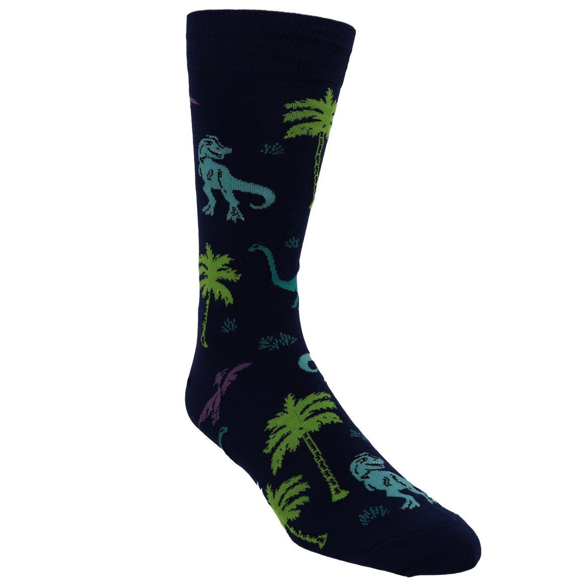 Land of the Dino Men's Socks by Sock it to Me - The Sock Spot