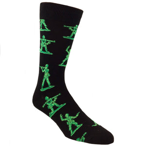 Little Green Army Men Socks by SockSmith
