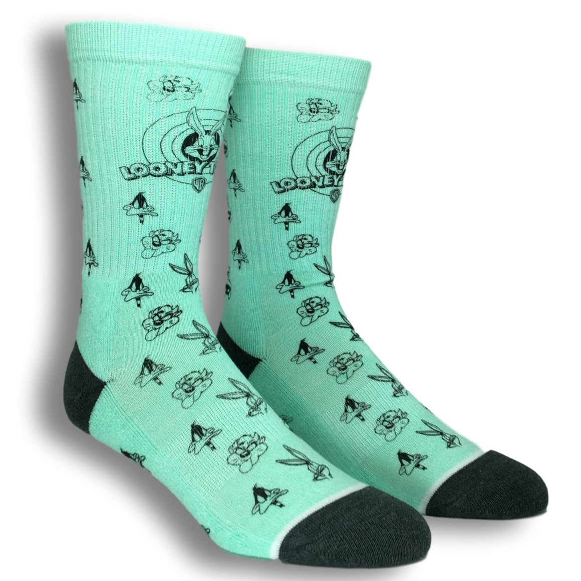 Socks - Looney Tunes  Waterprint Design Athletic Socks